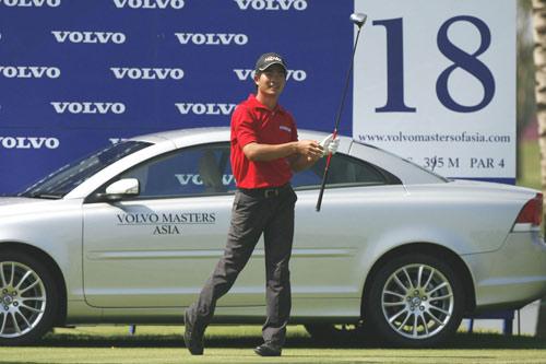 图文-VOLVO亚洲大师赛决赛轮红色增添王者风范