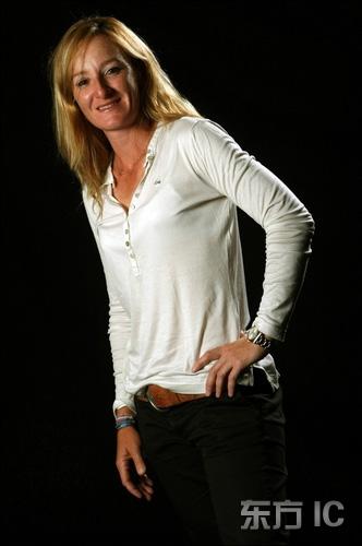 图文-高尔夫明星写真集法国高尔夫女球手诺切拉