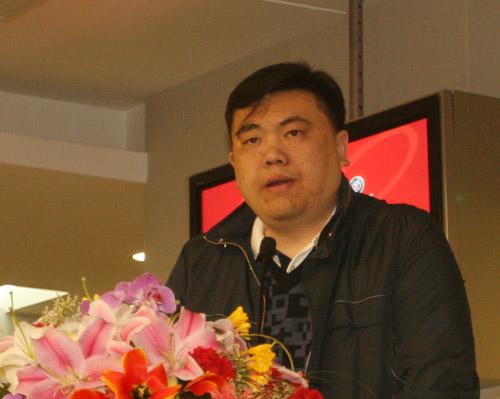 图文-别克俱乐部联赛工作会议小球中心杨杰部长