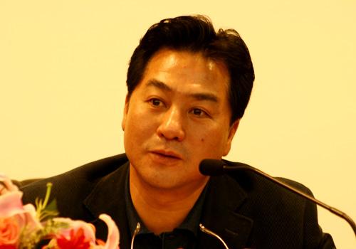图文-别克俱乐部联赛工作会议张小宁主任致辞