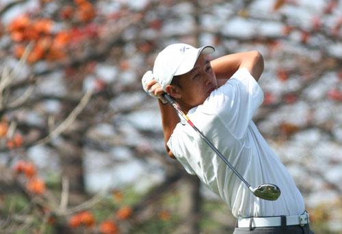 图文-中巡赛戴尔锦标赛首轮中国台北许孟男
