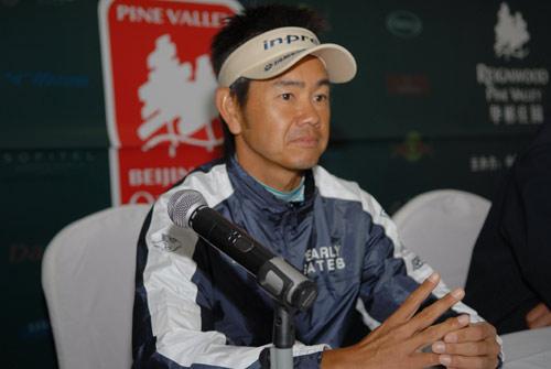 图文-华彬北京公开赛次轮藤田宽之暂时领先