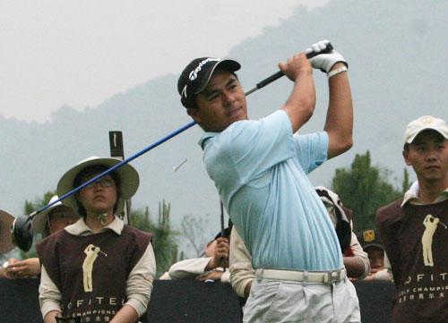图文-索菲特锦标赛第二轮古翠林