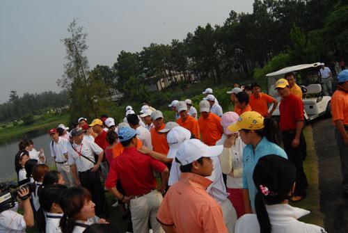 图文-俱乐部联赛中南分区赛开球仪式现场