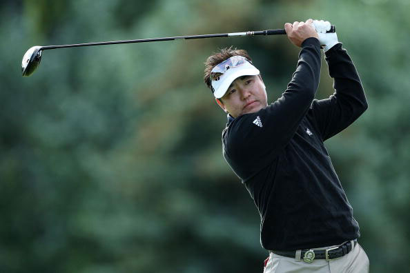 图文-PGA锦标赛第三轮韦昌秀