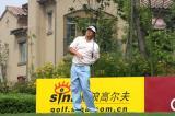 图文-中巡赛麓山锦标赛第一轮崔小龙8号洞开球
