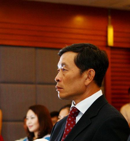 图文-欧米茄锦标赛发布会北京高协副秘书长范越