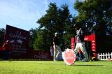 图文-中巡赛天津锦标赛次轮花絮发球台上的较量