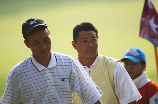 图文-中巡天津锦标赛决赛轮中国台北两位猛将