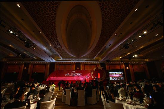 图文-欧米茄中巡赛年度颁奖晚宴颁奖晚宴会场