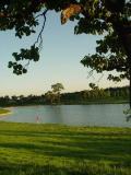 图文-太伟高尔夫球场美景图水障碍环抱果岭