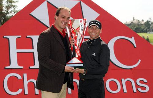 图文-汇丰冠军赛颁奖典礼收获第8个欧巡冠军