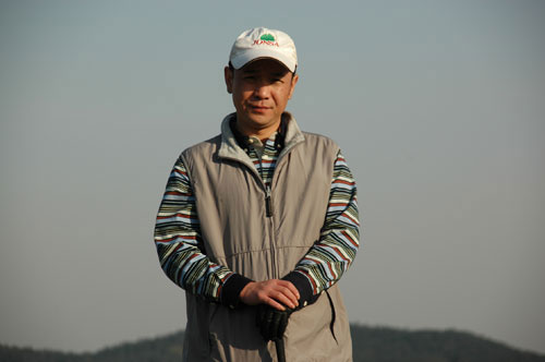 图文-美津浓高尔夫订货会上海屹生刘刚