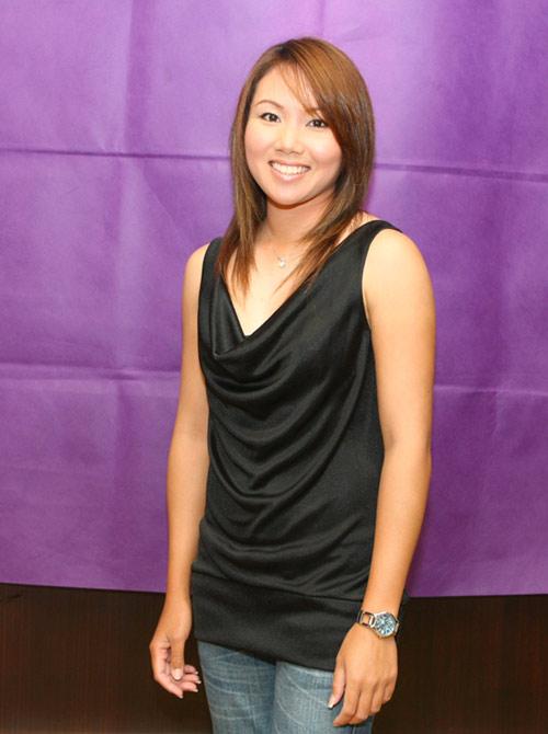 图文-中国女子公开赛最上镜球员评选泰国普兰妮