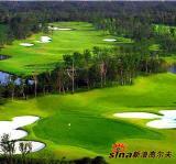 图文-上海美兰湖高尔夫俱乐部美景北森林球场