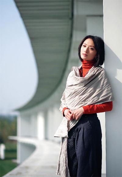 图文-许亚军张澍的高球故事美女显露万种风情