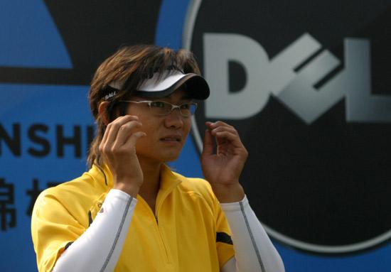 图文-戴尔锦标赛决赛轮战况新加坡选手吴坤阳