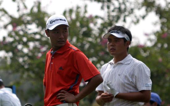 图文-戴尔锦标赛决赛轮战况周君和尚磊表现出色
