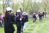 图文-VOLVO中国公开赛首轮志愿者维护秩序