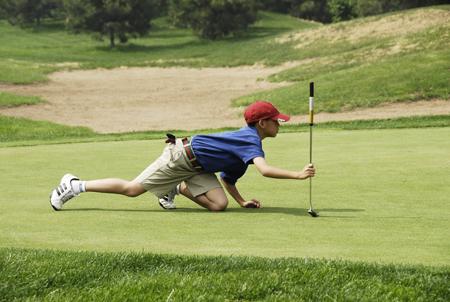 图文-天一高尔夫系列赛个性的瞄线
