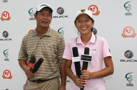 图文-联赛南方区复赛首轮许丰与徐乐专访