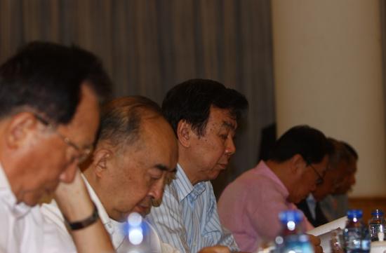 图文-中高协第三次全国代表大会开幕与会领导