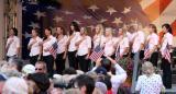 美国队队员宣誓