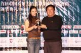 图文-中国球队海外赛颁奖魏红羽获得女子冠军