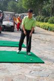 图文-第九届美加高尔夫对抗赛会长开彩球
