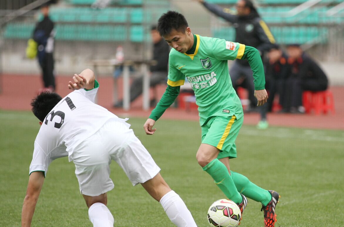 预备队联赛 杭州绿城VS北京国安(2)