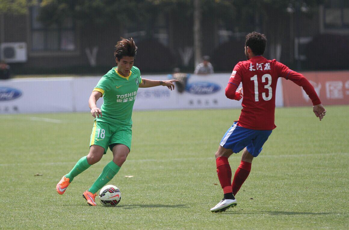 预备队联赛 杭州绿城VS河南建业(1)