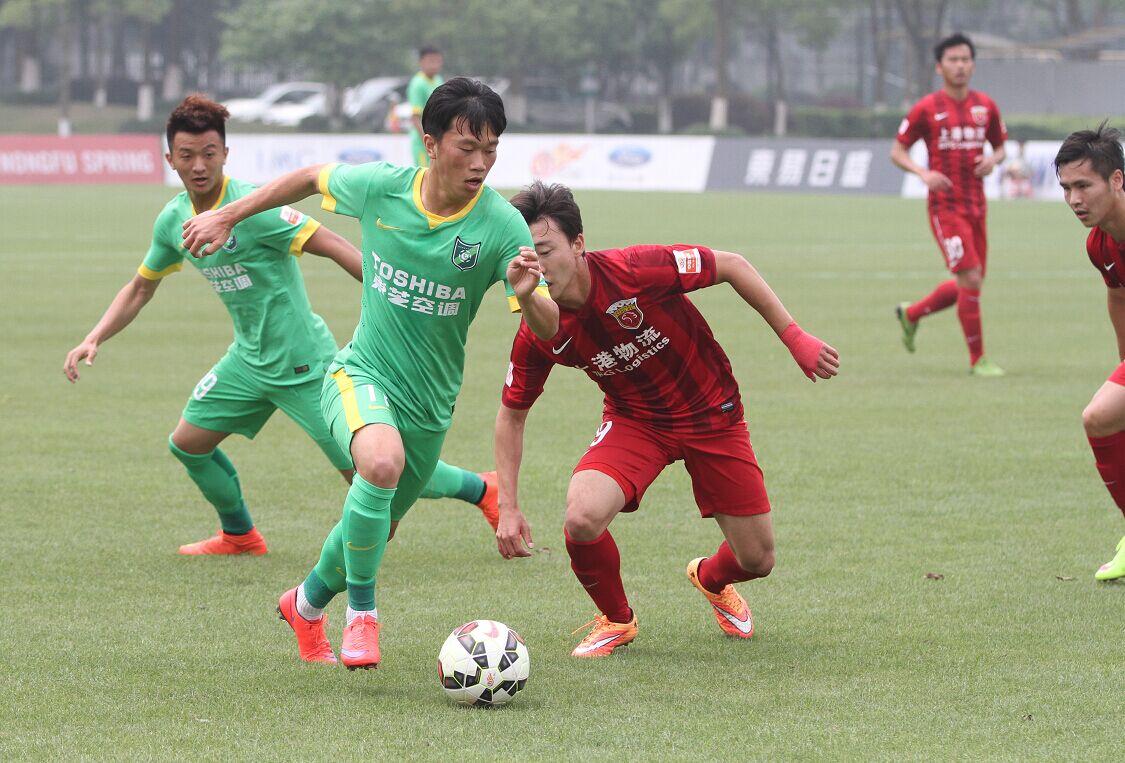预备队联赛 杭州绿城VS上海上港(1)