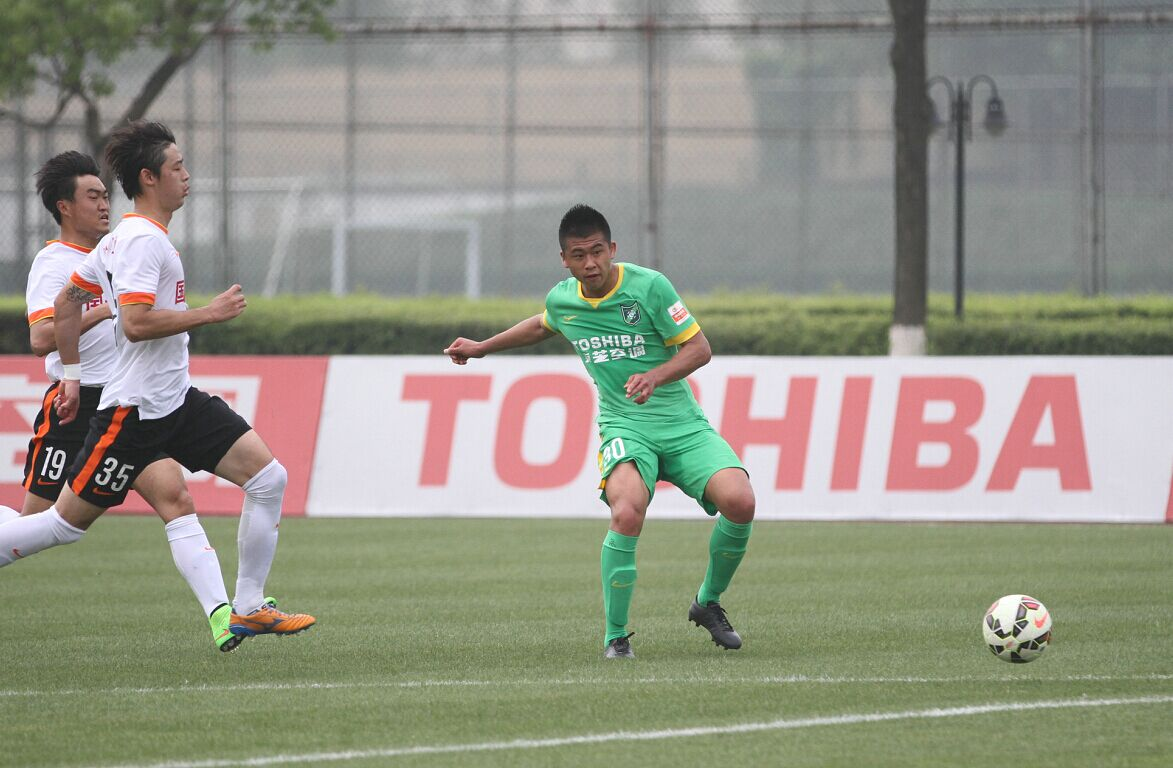 预备队联赛 杭州绿城VS贵州茅台(2)