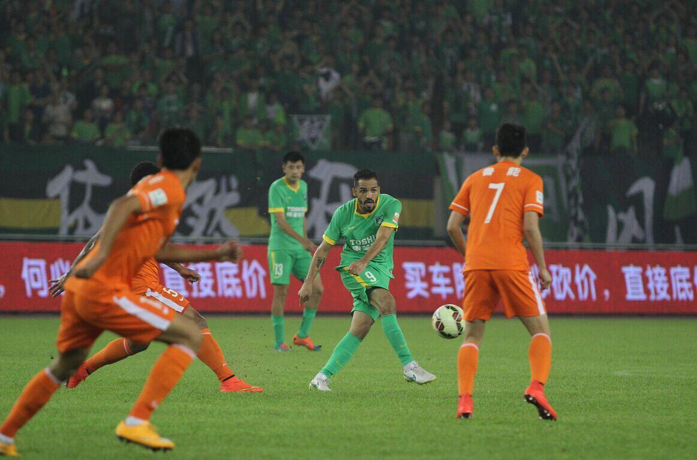 杭州绿城VS山东鲁能(2)