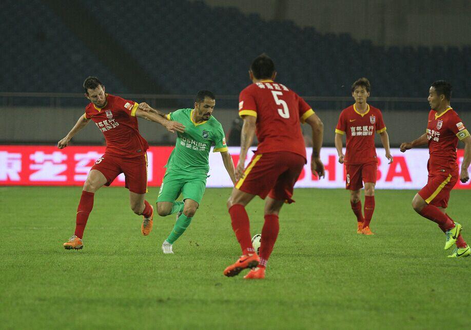 杭州绿城VS长春亚泰(1)
