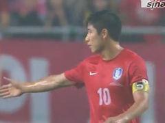 视频集锦-金英权首发李根镐破门 韩国1-2克罗地亚