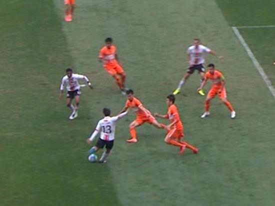 进球视频-首尔撞墙配合撕防线 悍将劲射再度领先