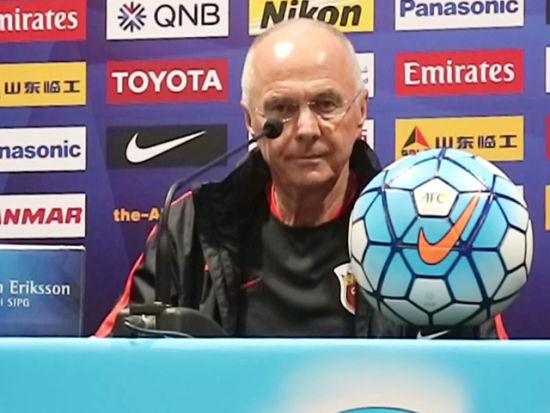 视频-埃里克森:首回合输球不甘心 坚信上港晋级