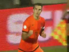 视频集锦-范佩西罗本建功 荷兰2-2险平爱沙尼亚