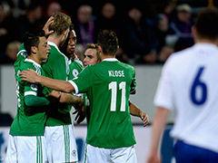 视频集锦-厄齐尔破门穆勒造点锁胜 德国客场3-0弱旅