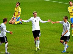 视频集锦-德国瑞典贡献8球盛宴 许尔勒帽子戏法