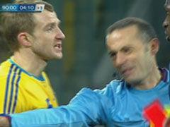 视频-法国良机遭乌铁卫放铲破坏 2黄变1红离场