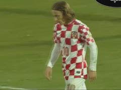 视频集锦-世预赛附加赛首回合 冰岛0-0克罗地亚