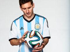 视频-巴西世界杯用球发布 绚丽五彩梅西A22陪衬