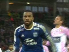 视频集锦-补时逆转 里昂客场3比2取胜埃维昂