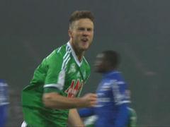视频集锦-荷兰前锋挑射破门 圣埃蒂安1-0巴斯蒂亚