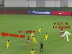 视频-实况模式解读恒大三叉戟 3人3传递刺穿防线
