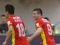 进球视频-埃尼奥反击送直塞 贝切莱过门将破门