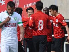 视频集锦-詹姆斯破门王亮绝杀 辽足主场2-1杭州