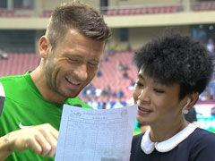 视频-赛前国安球员采访 马五爷搞笑报国安首发